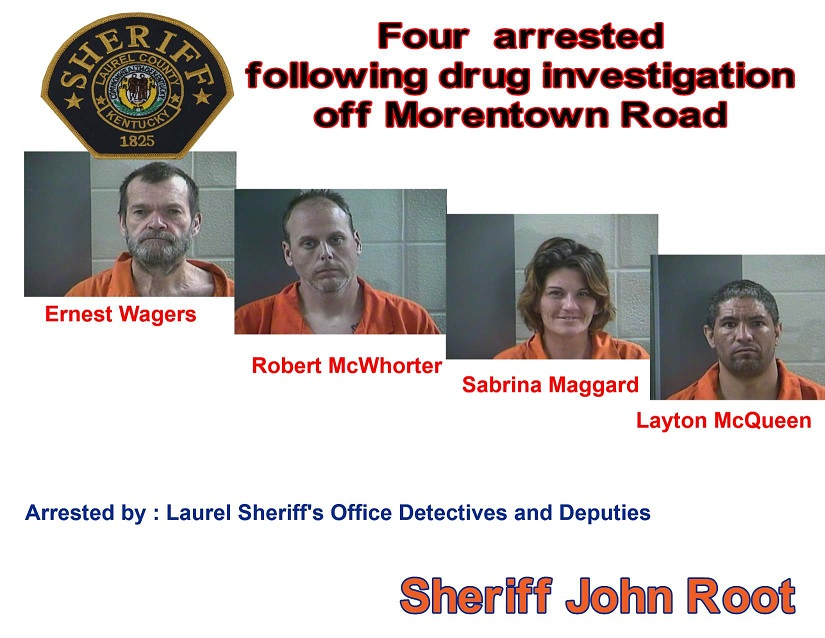 Laurel County Drug Investigation Nets Four