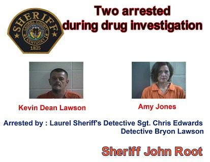 Laurel County Police Nab 2 In Drug Investigation