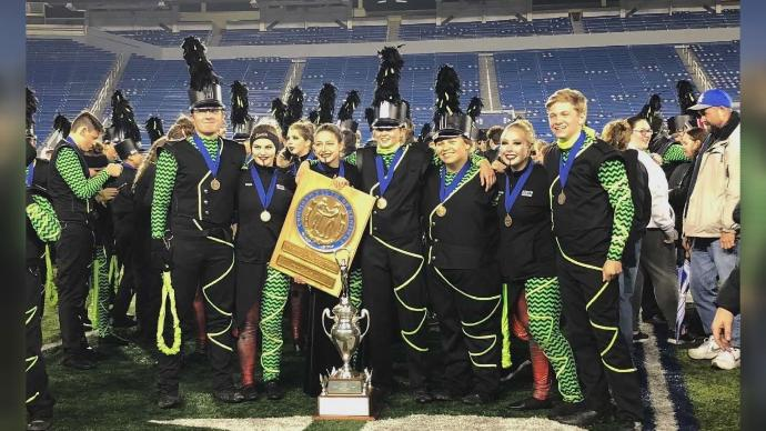 South Laurel Marching Band Wins First Ever 4A State Title