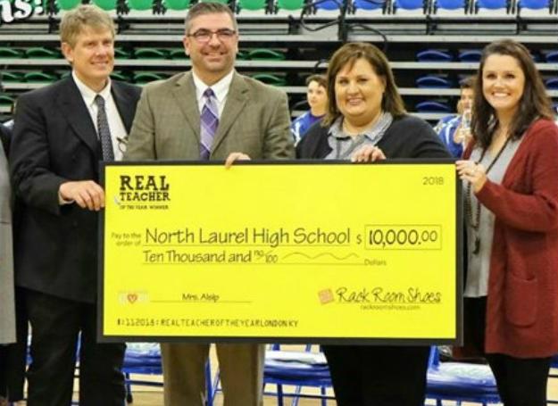 Laurel County Teacher Wins $10,000 Grant