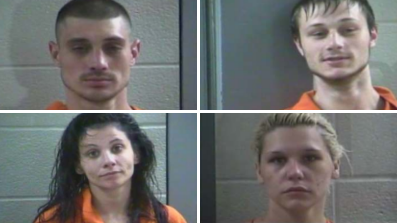 Four People Arrested In Laurel County After Being Found With Stolen Jeep