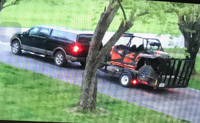London Police Looking For Stolen Truck And ATV