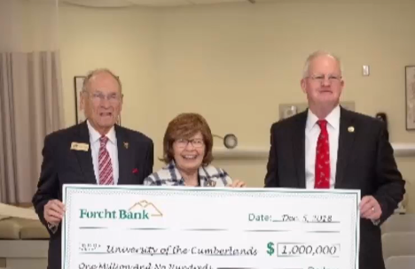 Terry And Marion Forcht Donate 1 Million Dollars To University Of The Cumberland's Nursing Program