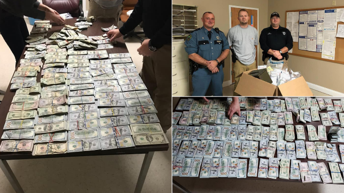 Manchester Police Find Nearly $315,000 Of 'Drug Money' At A Home