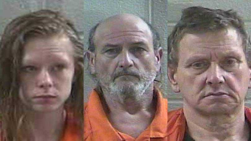 Laurel County Police Arrested Three People After Finding Guns And Drug Paraphernalia