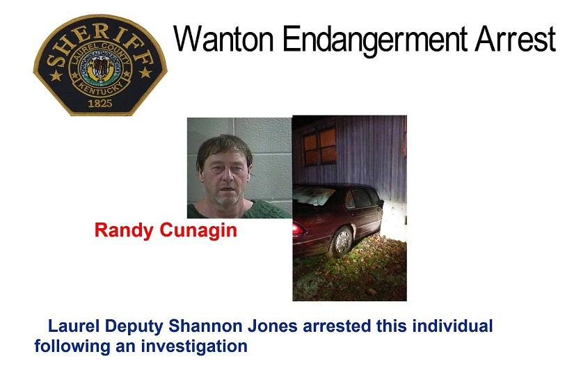 East Bernstadt Man Arrested After Allegedly Ramming His Car Into Ex-girlfriend's House