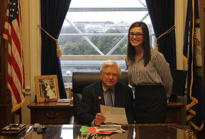 Laurel County Student Earns Internship With Congressman Rogers