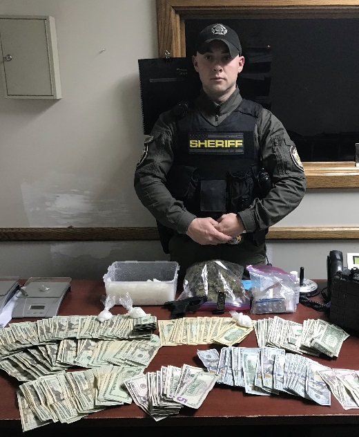 Suspicious Vehicle Check In Knox County Leads To Big Meth