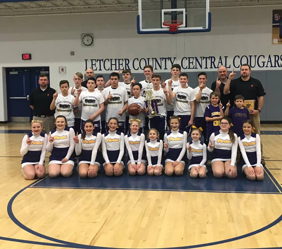 Fleming Neon Middle School Pirates Back to Back County Champs!
