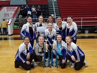LCC Dance Team Wins KDCO 14th Region Championship