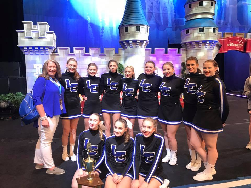 Letcher County Central Cheerleaders Place 5th In The Nation