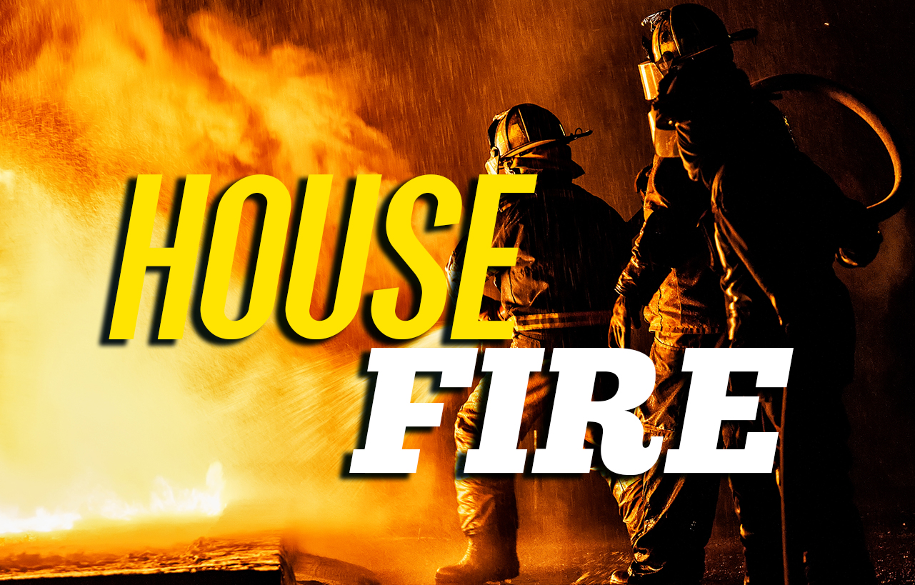 House fire in Floyd County