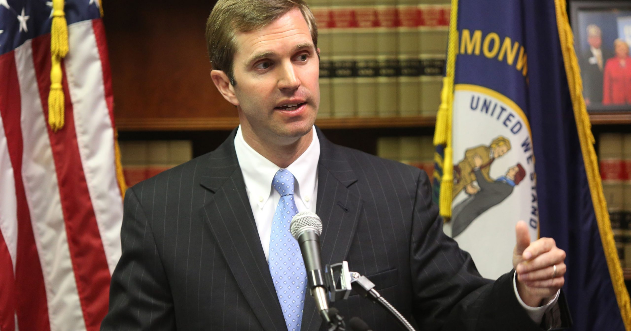 KY Attorney General Andy Beshear to be at Letcher Central HS this Tuesday