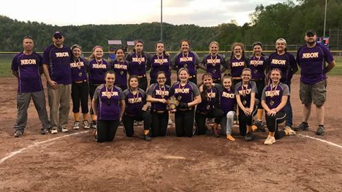 Fleming Neon MS Lady Pirates 2018 Softball County Champs