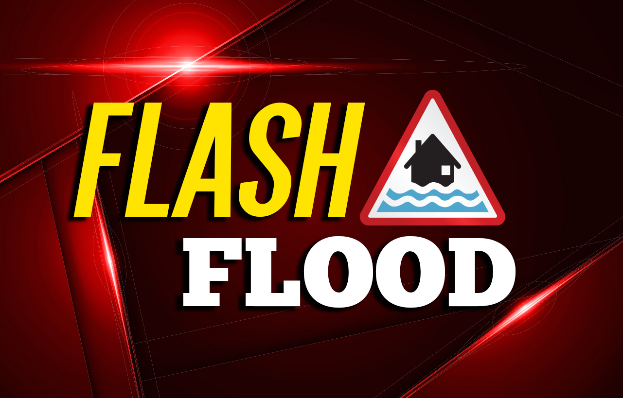 3 lanes of Highway 15 in Perry County blocked by flood waters