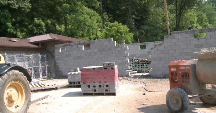 Renovations underway at Kentucky River Regional Animal Shelter in Hazard