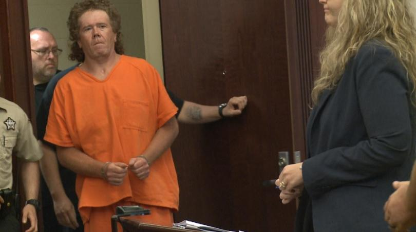 Man accused of shooting two people in Perry County pleads not guilty