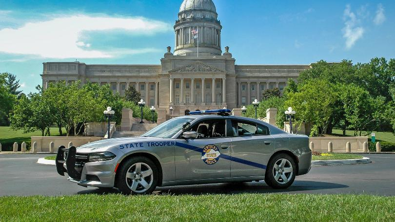 Kentucky State Police has best looking cruisers in the United States
