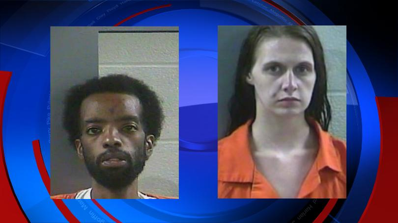 Two people charged in theft at Laurel County business