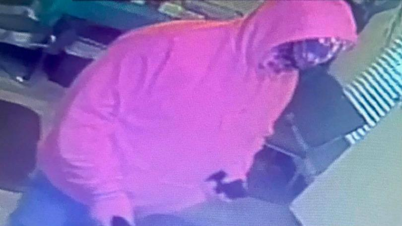 Hazard police looking for armed robbery suspect