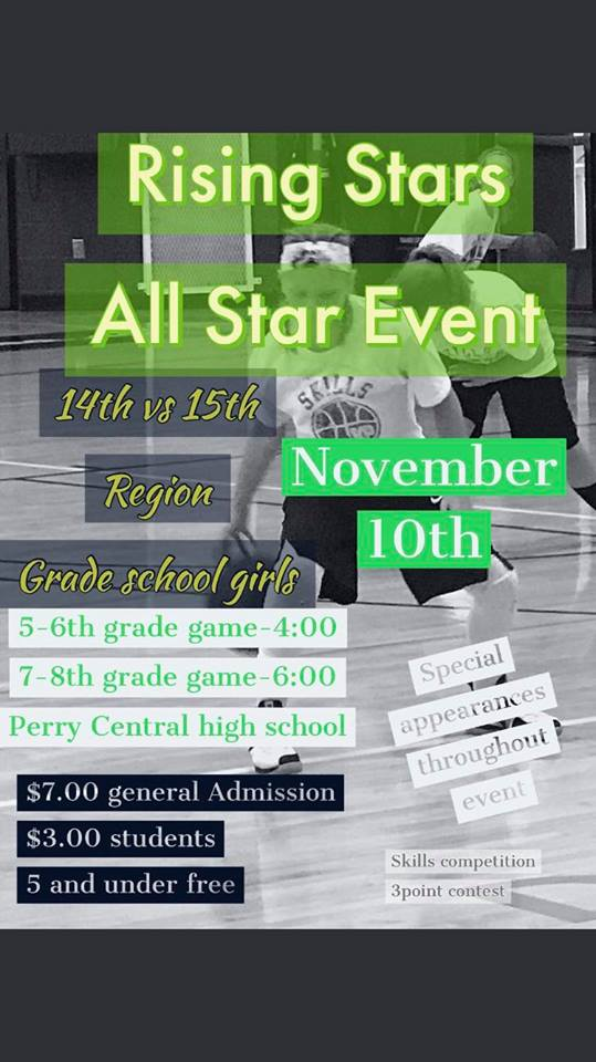 The 1st Annual Rising Stars girls middle school basketball event this Saturday features three Letcher County players