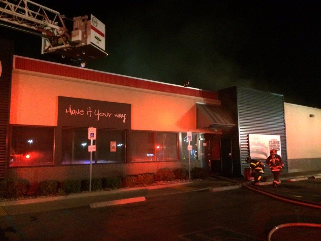 Early Morning Fire Closes Burger King