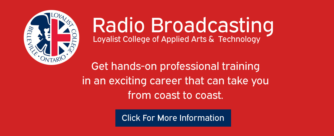 Feature: https://www.loyalistcollege.com/programs-and-courses/full-time-programs/broadcasting-radio/