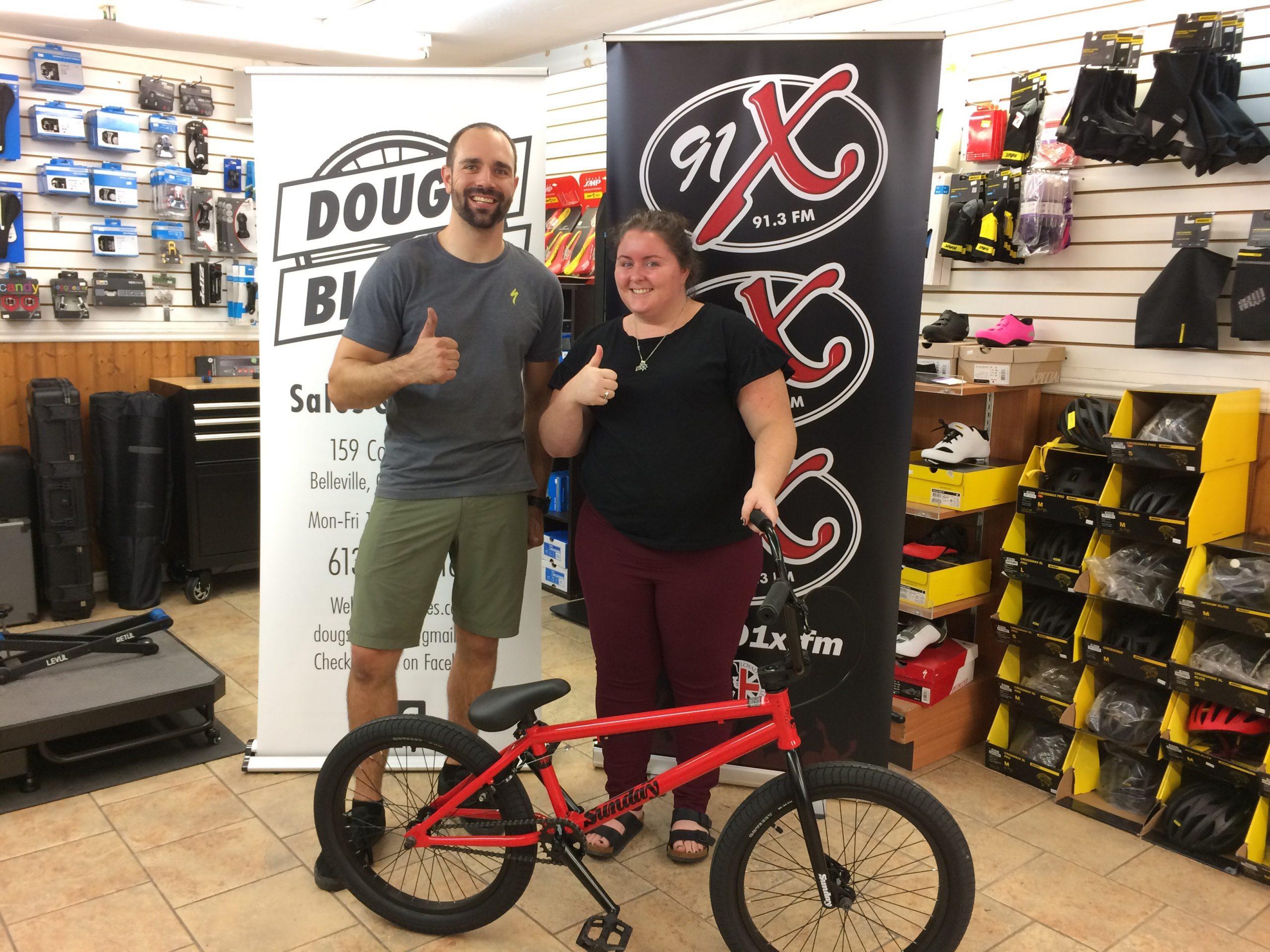 BMX Bike Winner!