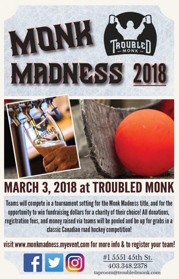 Troubled Monk - Monk Madness Street Hockey Tournament