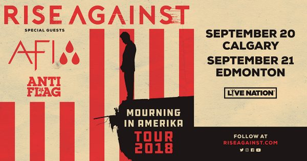 Rise Against in Alberta!
