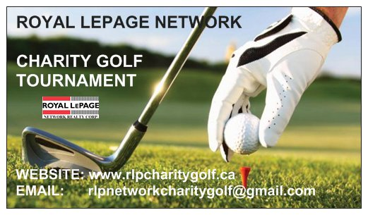 Royal LePage Network Realty Corp. Annual Charity Golf Tournament