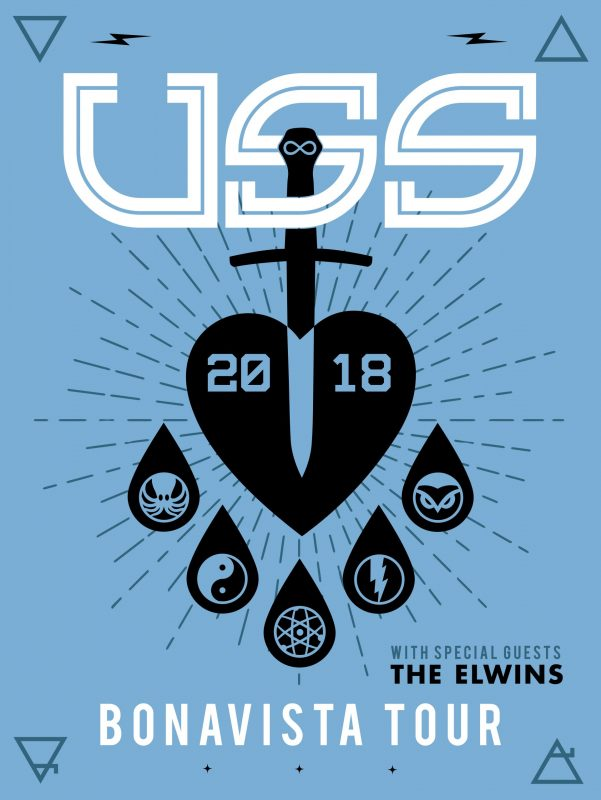 USS with The Elwins