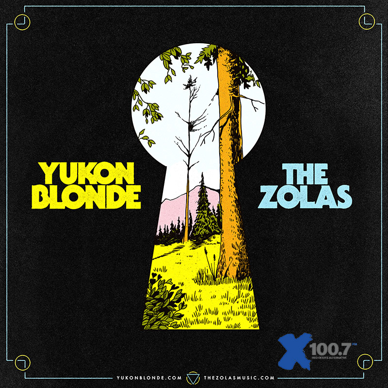 Yukon Blonde with The Zolas