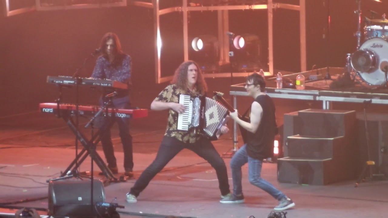Toto, Weird Al, and Weezer (Video)
