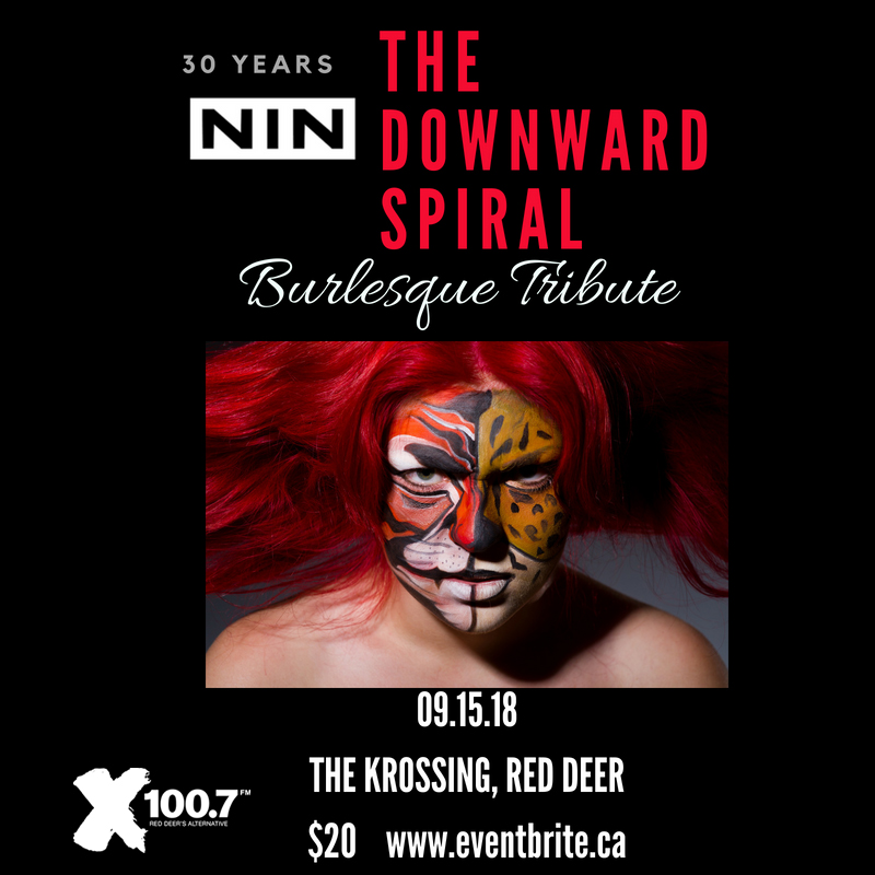 The Downward Spiral, A Burlesque Tribute to the Nine Inch Nails - Sept 15
