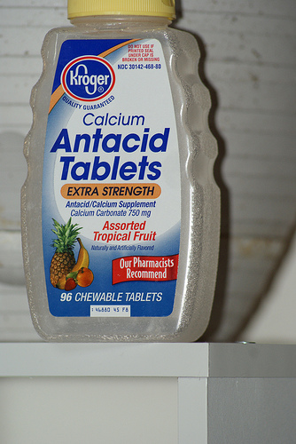 Five Side Effects of Popping Too Many Antacids