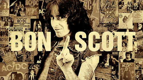 Bon Scott, 38 Years Gone.
