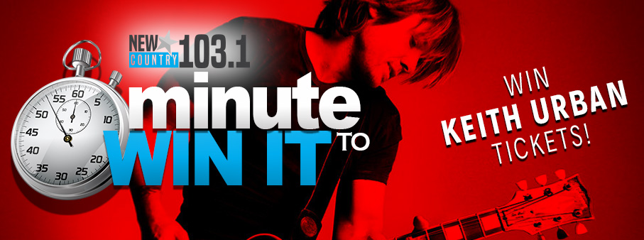 Minute To Win It – Keith Urban