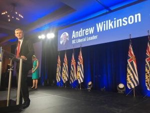 Wilkinson named new leader of B.C Liberal party