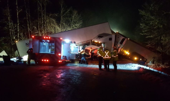 Transportation ministry awaiting RCMP investigation results into Coquihalla crash