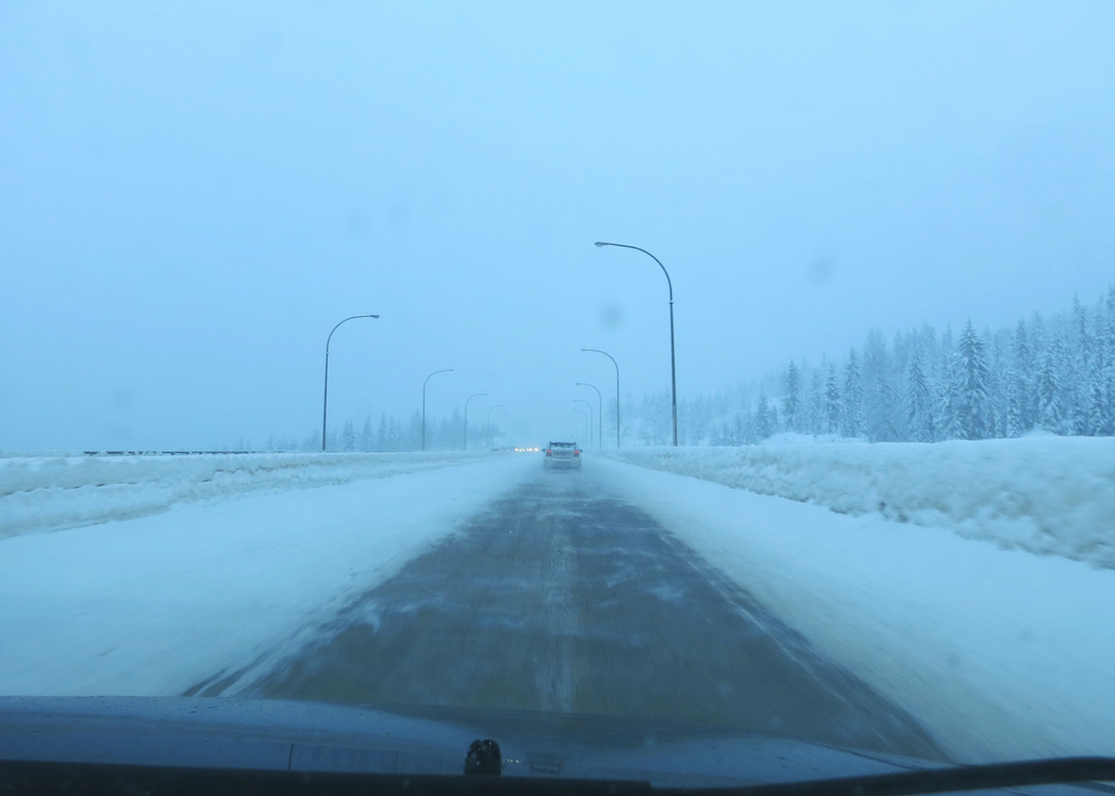 Lots of snow expected on the Merritt to Hope section of the Coquihalla this weekend