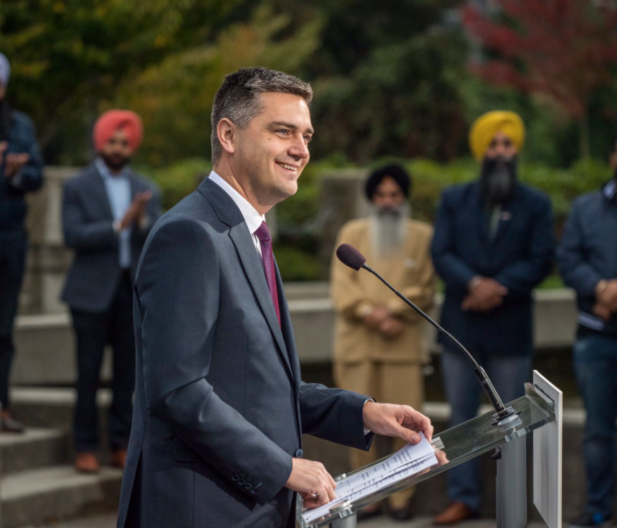 Todd Stone slams the NDP government over the pipeline battle with Alberta