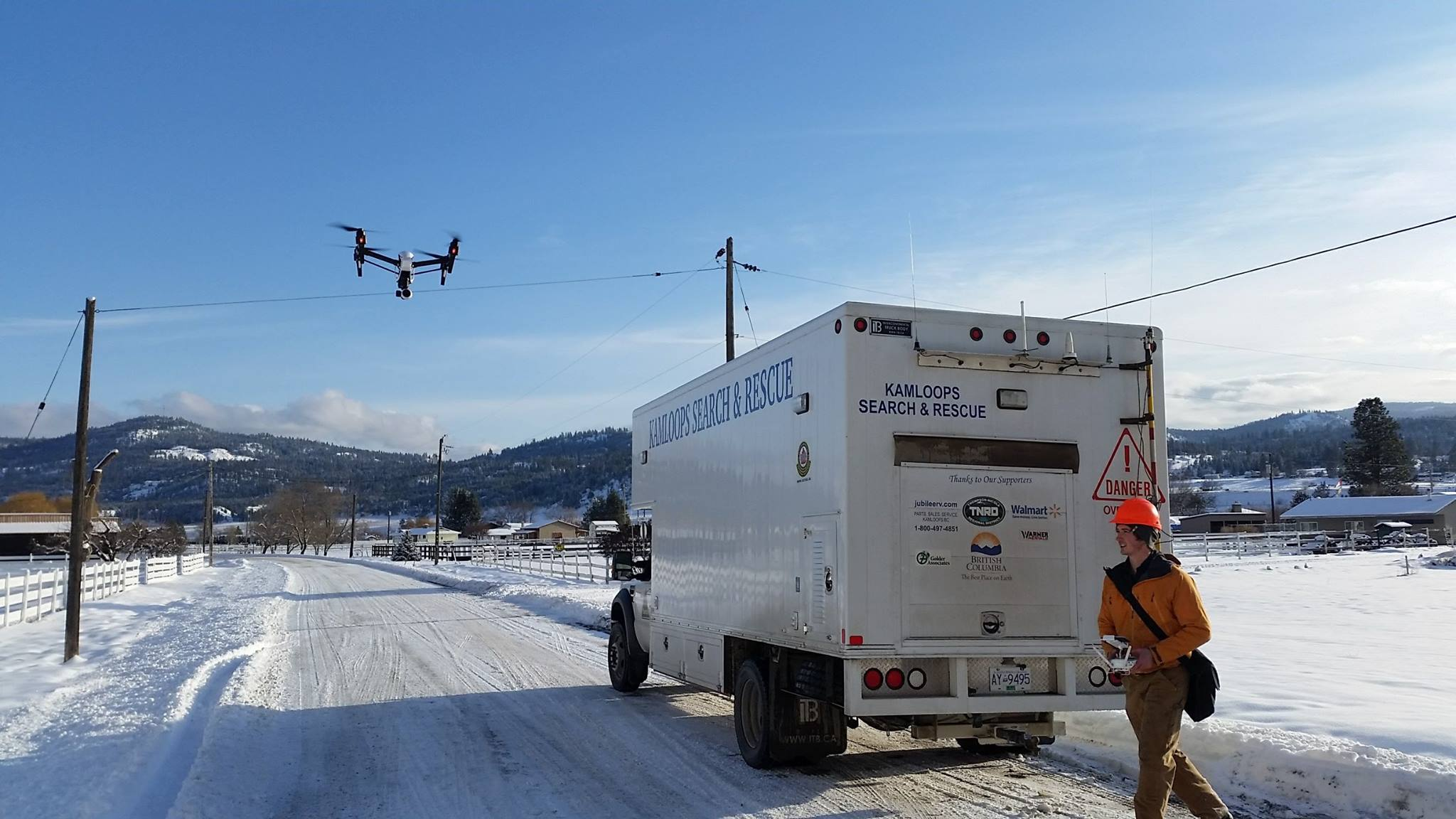 Kamloops Search and Rescue Says Drones are Effective Tool