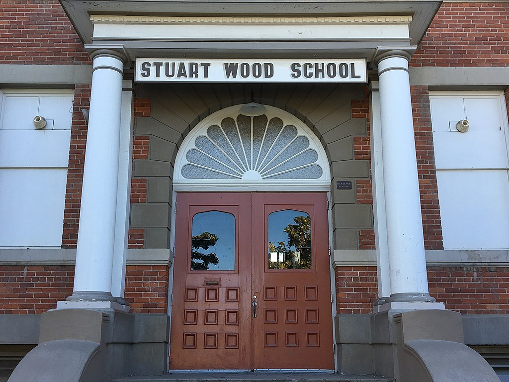 Plans continue to move forward to re-purpose the old Stuart Wood school building