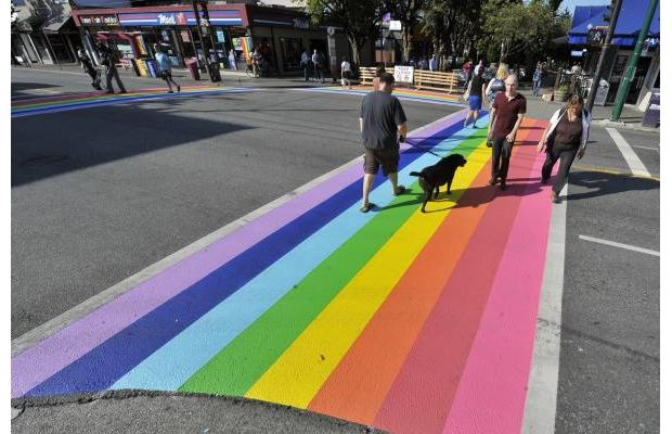 Lawyers to the rescue as Merritt mayor and council deny request for a rainbow crosswalk