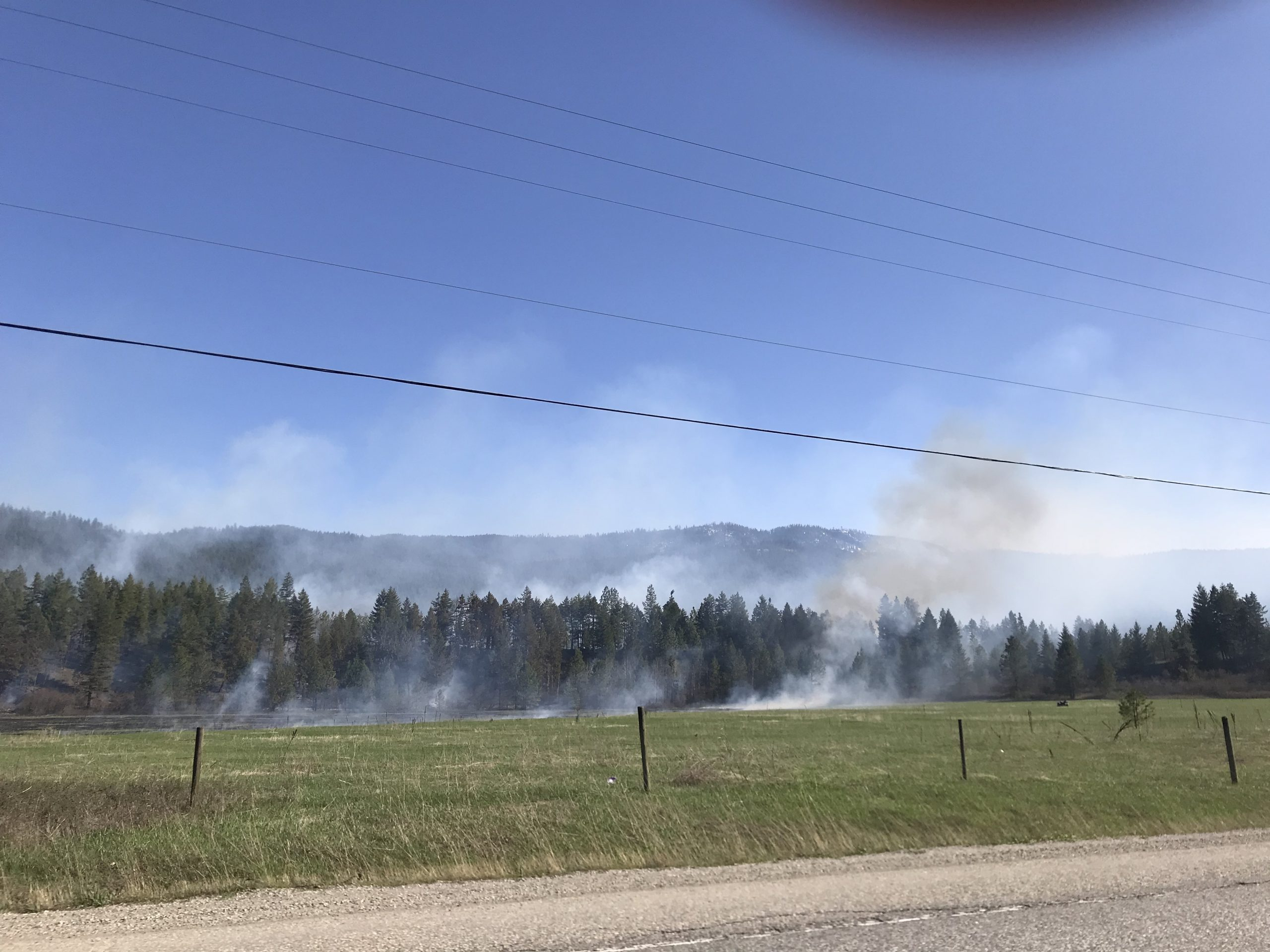 Update: No overnight growth of wildfire near Chase