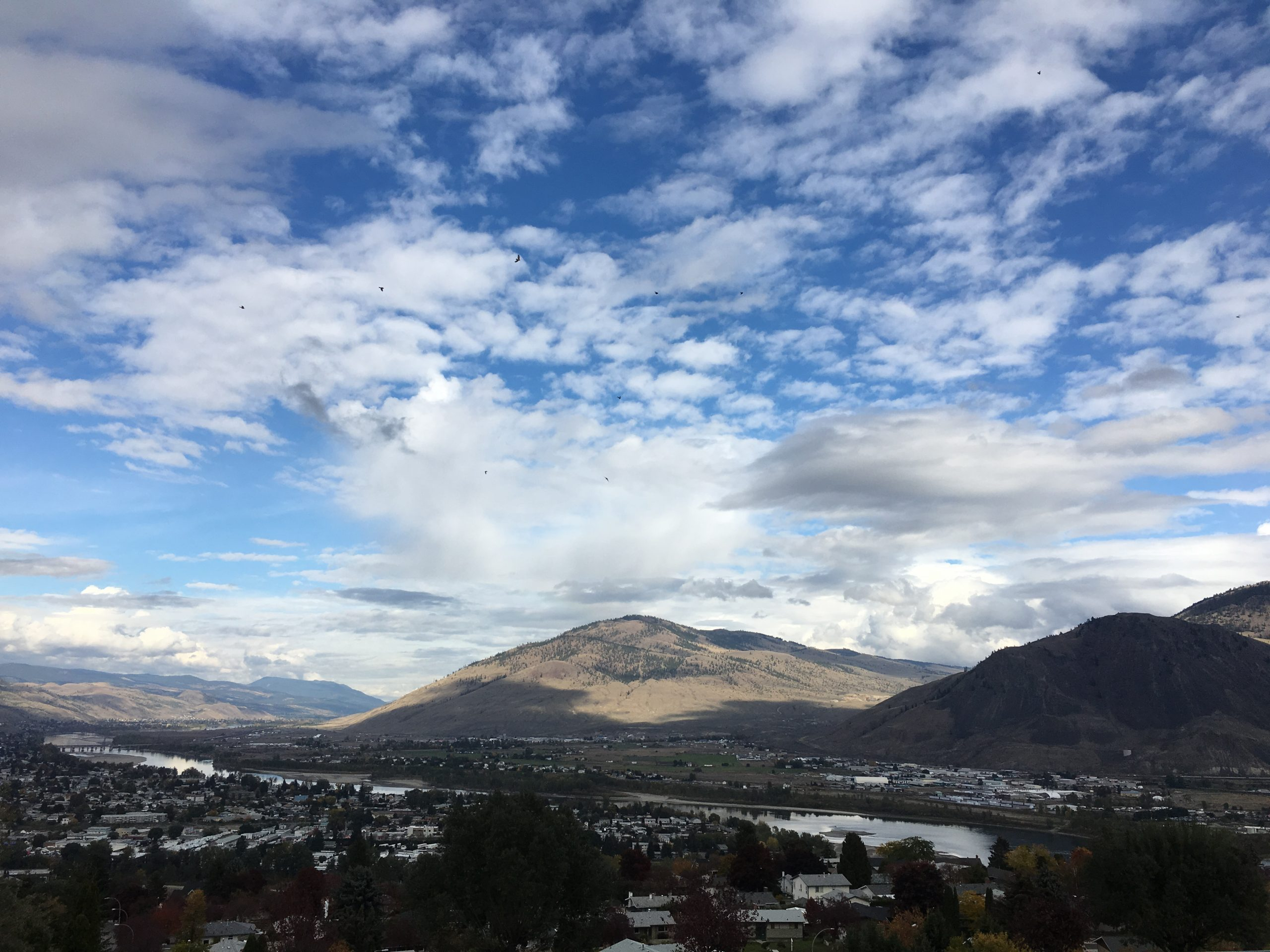 So far it looks like the Kamloops area may dodge the flooding bullet