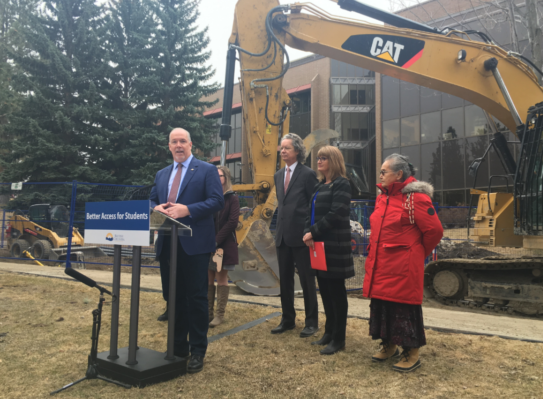 Premier takes part in the official ground breaking for new TRU Nursing building