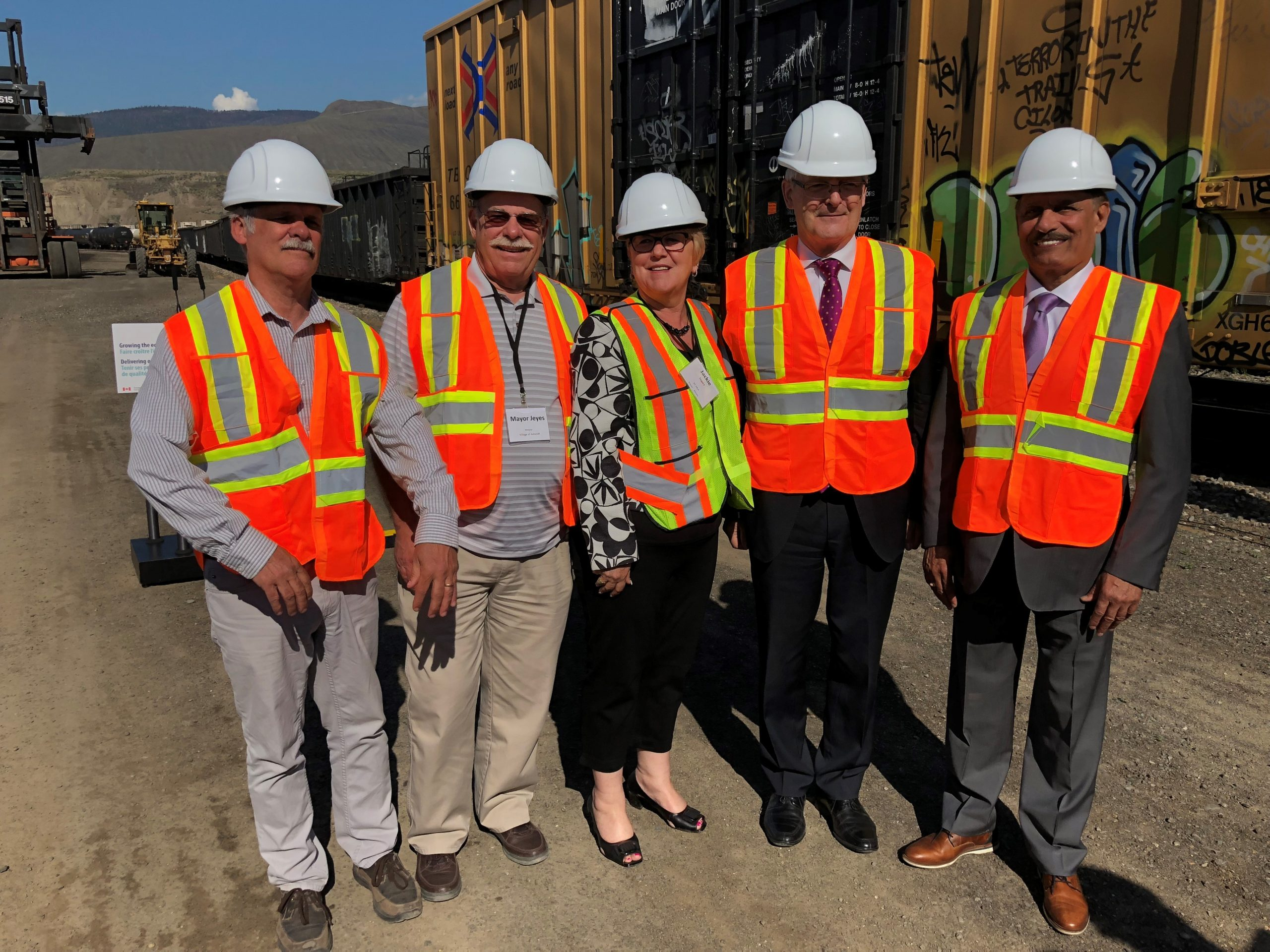 Federal government invests final $9.2-million dollar piece of next phase of expansion at Ashcroft Terminal