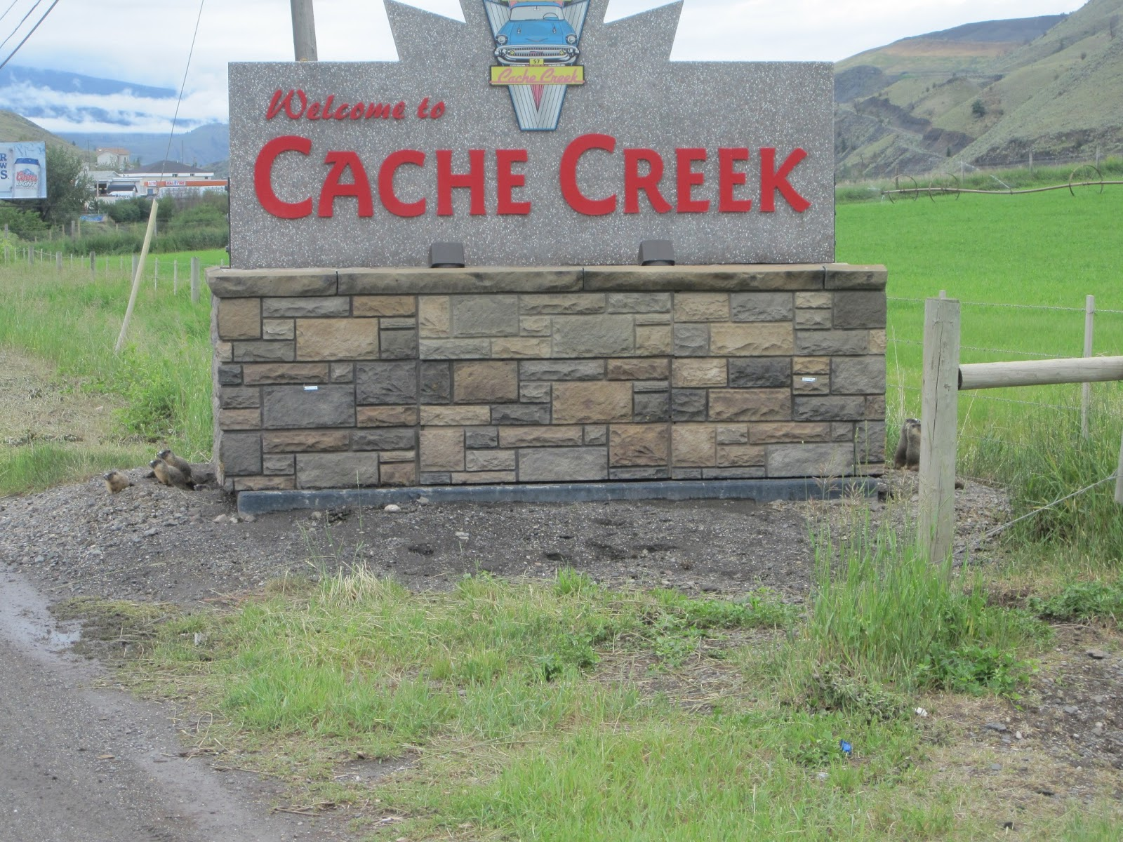 Flood fears ease in Cache Creek - for now